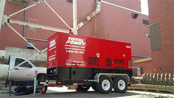 power generator rentals, Rentals Total Power rentals