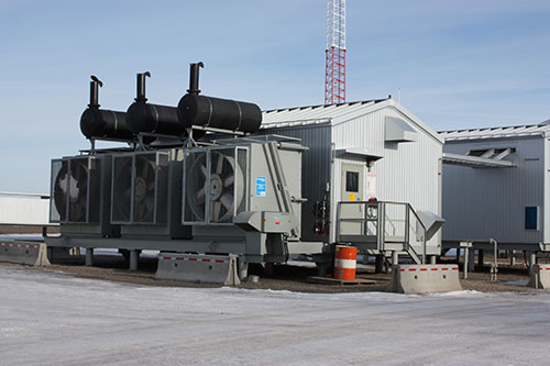 Waukesha engines chosen for prime power application in oil & gas market.